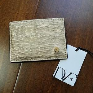 New with tags Diane Von Furstenberg card case